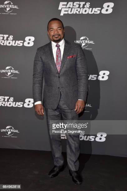 F Gary Gray attends 'Fast Furious 8' Premiere at Le Grand Rex on April 5 2017 in Paris France