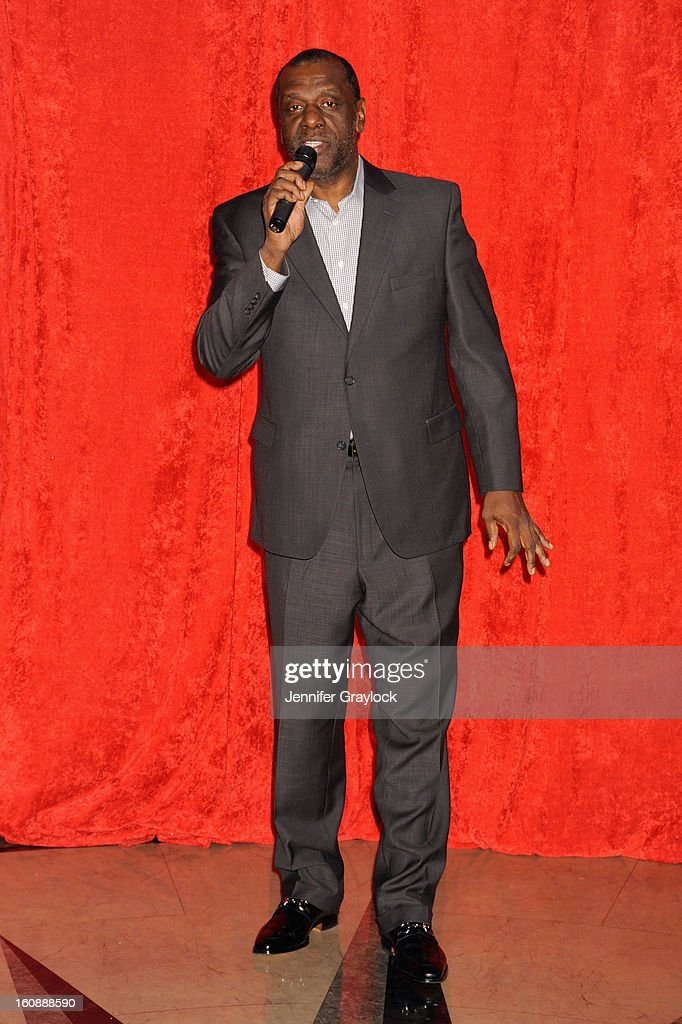 Gary Houston attends as Madame Tussauds unveils four wax figures of Whitney Houston-- the first time four figures of the same individual have been simultaneously released-- on February 7, 2013 in New York City.