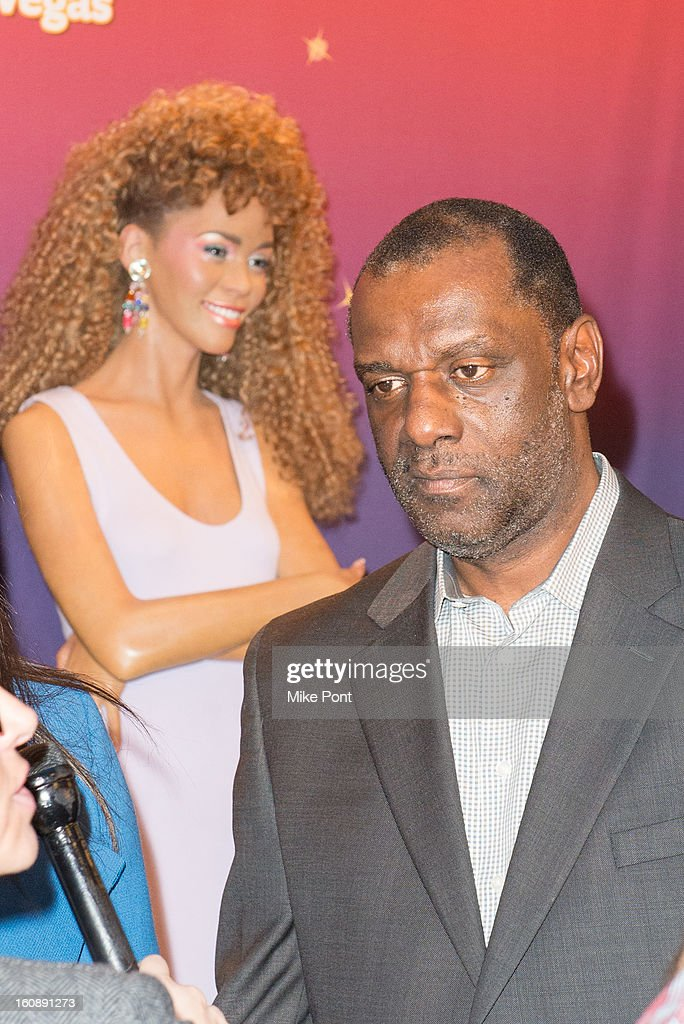 Gary Houston attends Madame Tussauds <a gi-track='captionPersonalityLinkClicked' href=/galleries/search?phrase=Whitney+Houston&family=editorial&specificpeople=201541 ng-click='$event.stopPropagation()'>Whitney Houston</a> Wax Unveiling at Madame Tussauds on February 7, 2013 in New York City.