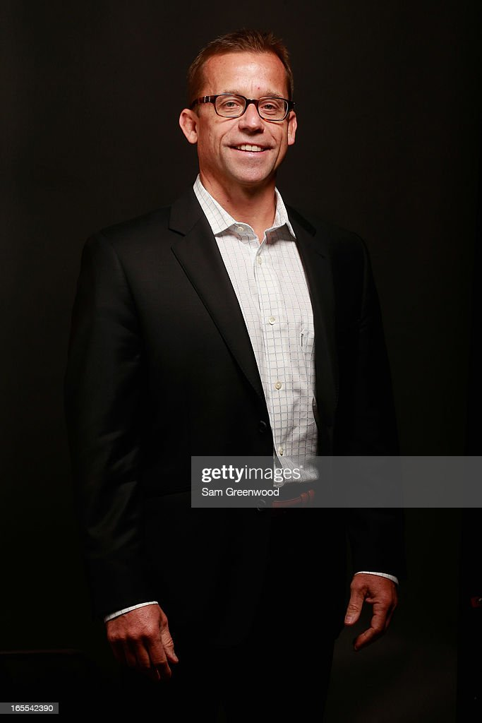 Gary Jacobus, Head of Business Development, Sports & Entertainment, Aramark poses at the World Congress Of Sports Executive Portrait Studio on April 4, 2013 in Naples, Florida.