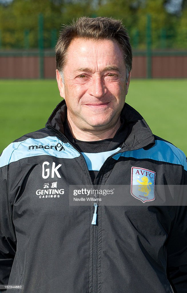 Gary Karsa head of football operations of Aston Villa poses during the club's 2012/13 photo call at the club's training ground at Bodymoor Heath on September 18, 2012 in Birmingham, England.
