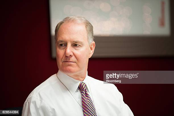 Gary Kelly chief executive officer of Southwest Airlines Co listens during an interview New York US on Thursday Dec 8 2016 Kelly said demand for...