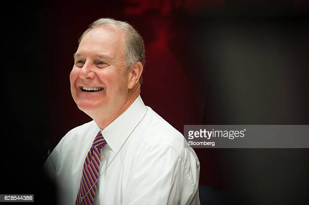Gary Kelly chief executive officer of Southwest Airlines Co smiles during an interview New York US on Thursday Dec 8 2016 Kelly said demand for plane...