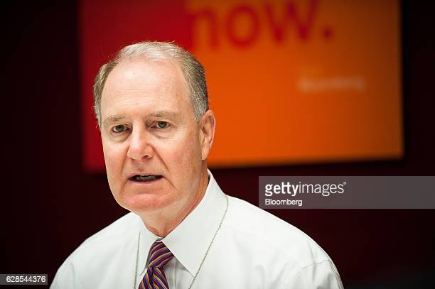 Gary Kelly chief executive officer of Southwest Airlines Co speaks during an interview New York US on Thursday Dec 8 2016 Kelly said demand for plane...