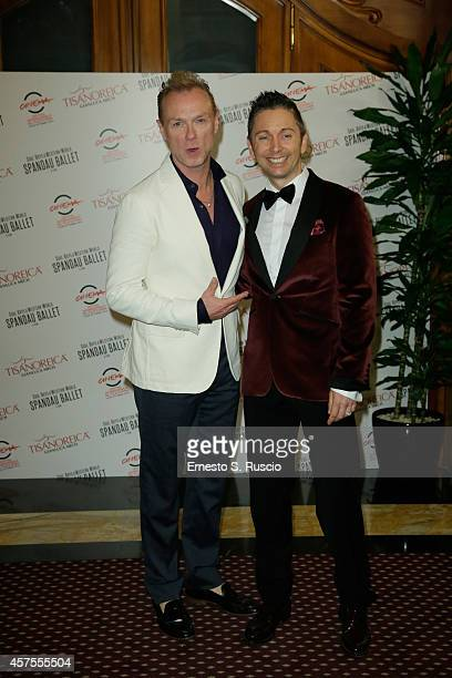 Gary Kemp and Gianluca Mech attend the TBS Dinner during the 9th Rome Film Festival on October 20 2014 in Rome Italy