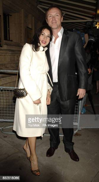 Gary Kemp and his wife Lauren arrive for The Secret Policeman's Ball concert which launches Amnesty International's 'Protect The Human Week' at The...