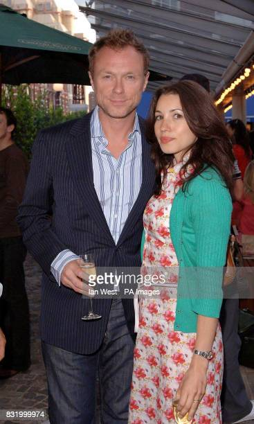 Gary Kemp and his wife Lauren attend a party to celebrate the opening of The Shop at The Bluebird Kings Road west London