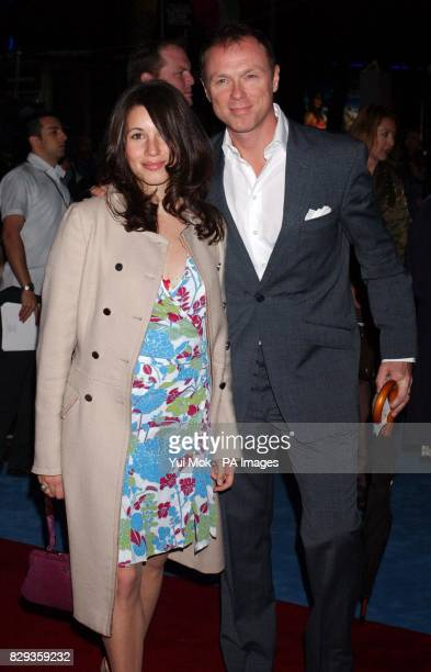 Gary Kemp and his wife Lauren Barbour arrive for the world charity premiere of Alfie at the Empire Leicester Square in central London in aid of...