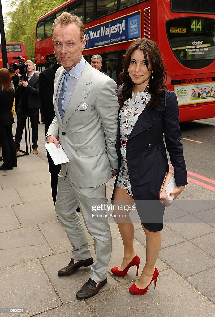 Gary Kemp and Lauren Barber attend Ivor Novello Awards at Grosvenor House, on May 17, 2012 in London, England.