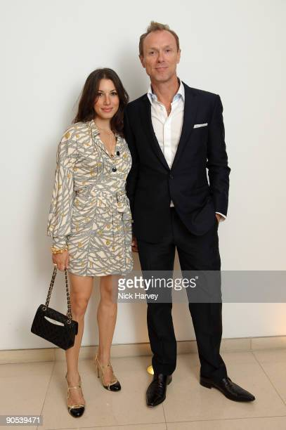 Gary Kemp and Lauren Barber attend the 10th anniversary party of St Martin's Lane Hotel at St Martin's Lane Hotel on September 9 2009 in London...