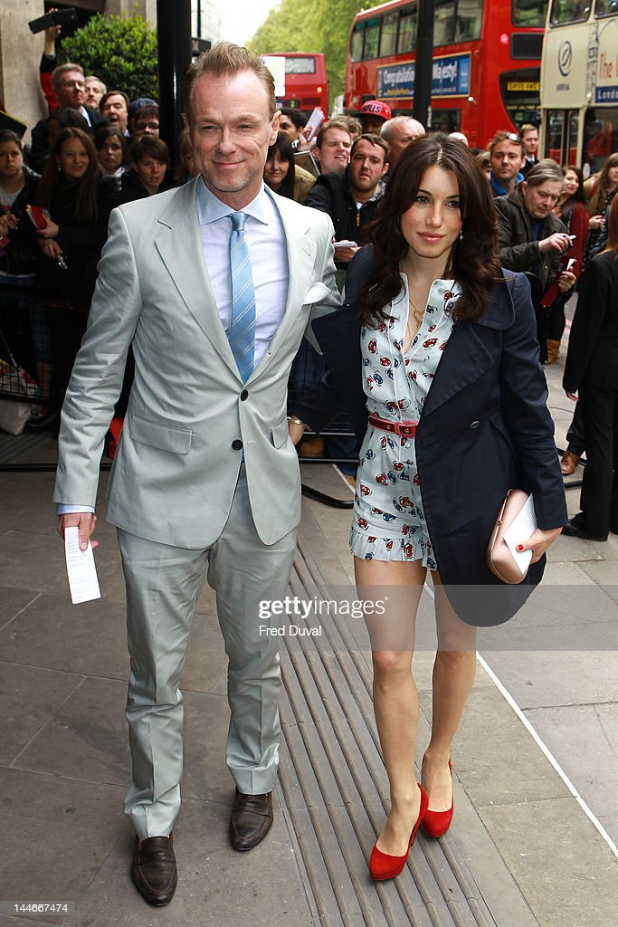 <a gi-track='captionPersonalityLinkClicked' href=/galleries/search?phrase=Gary+Kemp&family=editorial&specificpeople=213076 ng-click='$event.stopPropagation()'>Gary Kemp</a> and Lauren Barber attend the Ivor Novello awards that honours songwriters, composers and music publishers at Grosvenor House, on May 17, 2012 in London, England.