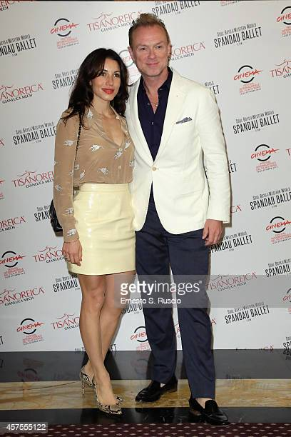 Gary Kemp and Lauren Barber attend the TBS Dinner during the 9th Rome Film Festival on October 20 2014 in Rome Italy