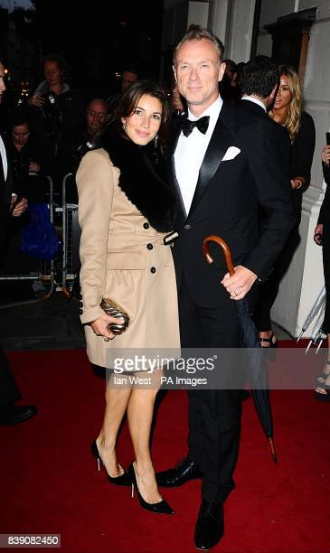 Gary Kemp and Lauren Kemp arriving for the 2011 GQ Men of the Year Awards at the Royal Opera House Covent Garden London