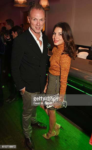 Gary Kemp and Lauren Kemp attend the press night after party for 'The Libertine' at the Haymarket Hotel on September 27 2016 in London England