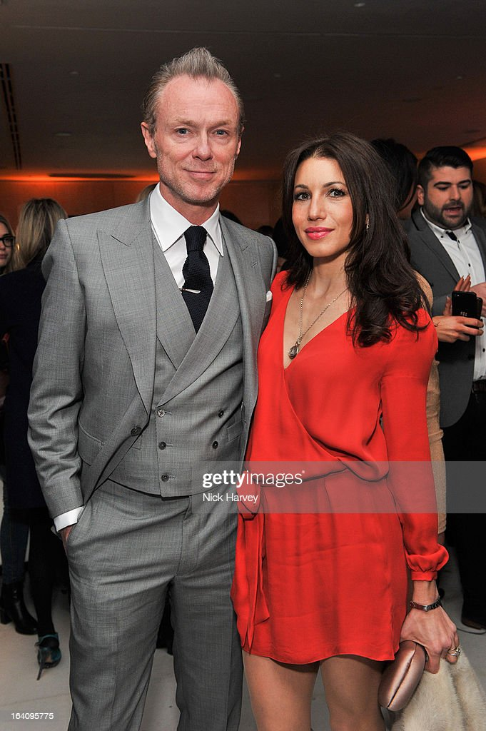 Gary Kemp and Lauren Kemp attend the Rodial Beautiful Awards at St Martin's Lane Hotel on March 19, 2013 in London, England.