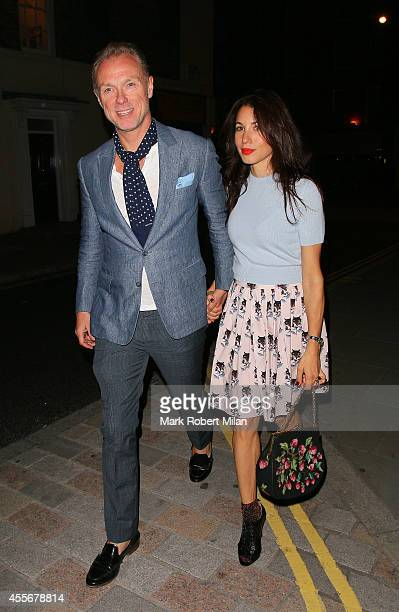 Gary Kemp at the Chiltern Firehouse on September 18 2014 in London England