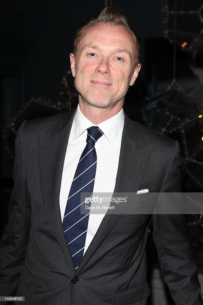 Gary Kemp attends a party to launch the book 'Speed of Life,' containing photographs of David Bowie, by Masayoshi Sukita at the Arts Club on May 8, 2012 in Dover St, London.