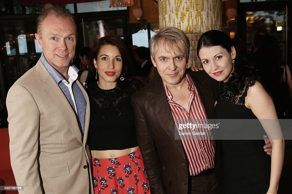 Gary Kemp, Lauren Kemp, Nick Rhodes and Nefer Suvio attends the GQ and