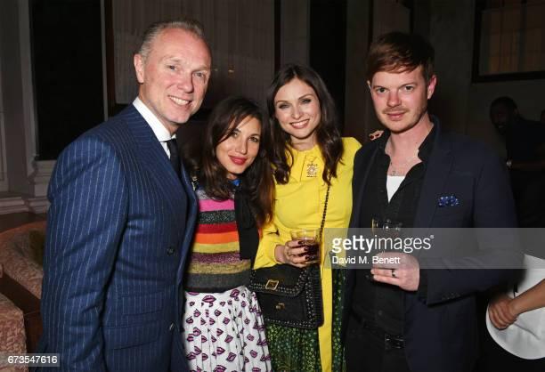 Gary Kemp Lauren Kemp Sophie EllisBextor and Richard Jones attend the launch of The Ned London on April 26 2017 in London England