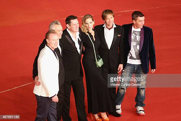 Gary Kemp Martin Kemp Tony Hadley George Hencken Steve Norman and John Keeble attend the 'Soul Boys of the Western World' Red carpet during the 9th...