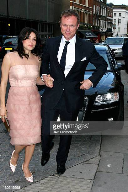 Gary Kemp with Lauren Kemp during Audi Sponsors Swan Lake by the Royal Ballet at the Royal Opera House at Royal Opera House in London United Kingdom