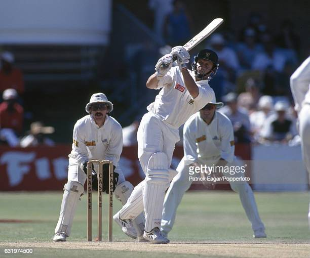 Gary Kirsten batting for South Africa during the 4th Test match between South Africa and England at St George's Park Port Elizabeth South Africa 26th...