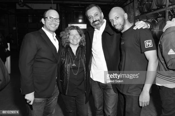 Gary Kline Alina Lundry Mazdack Rassi and Omar Parker attend the Meatpacking District's 4th Annual Open Market at Highline Stages on March 9 2017 in...