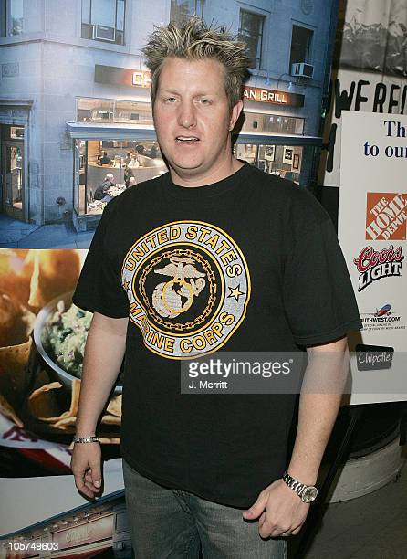 Gary LeVox of Rascal Flatts during 40th Annual Academy of Country Music Awards Backstage with Chipotle at The Mandalay Bay in Las Vegas Nevada United...