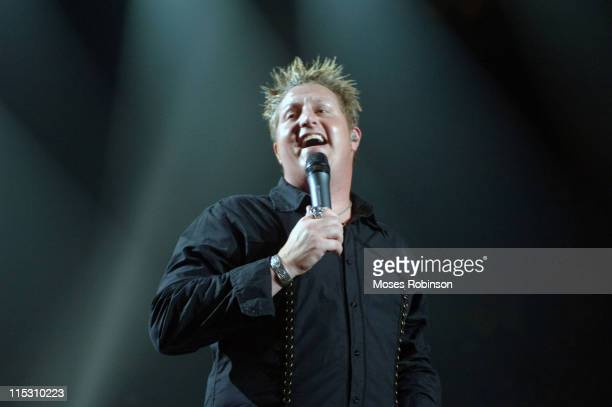 Gary LeVox of Rascal Flatts during Rascal Flatts 'Me and My Gang' Tour 2006 at Phillips Arena in Atlanta Georgia July 30 2006 at Philips Arena in...