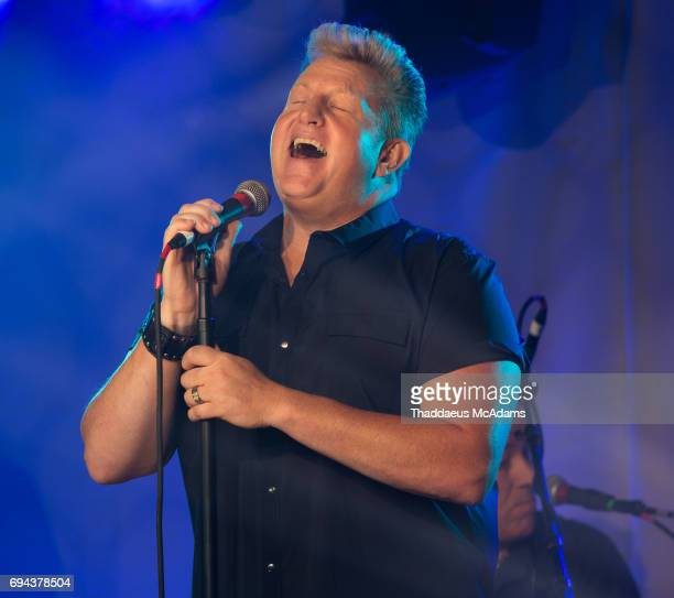 Gary LeVox of Rascal Flatts performs at the Tidal x Rascal Flatts pop up on June 9 2017 in Nashville Tennessee