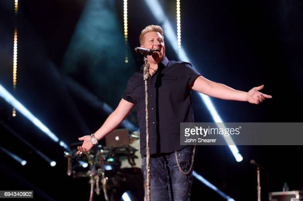 Gary LeVox of Rascal Flatts performs on stage for day 2 of the 2017 CMA Music Festival on June 9 2017 in Nashville Tennessee