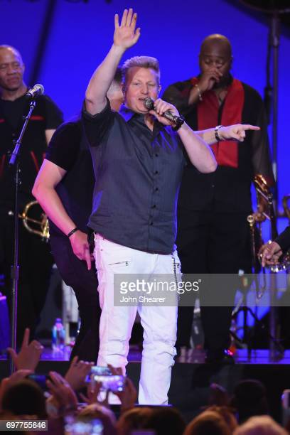Gary LeVox of Rascal Flatts performs onstage with Earth Wind Fire during CMT Crossroads Earth Wind Fire and Friends on June 6 2017 in Nashville...