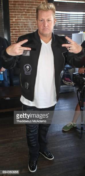 Gary LeVox of Rascal Flatts poses backstage at Tidal x Rascal Flatts pop up on June 9 2017 in Nashville Tennessee