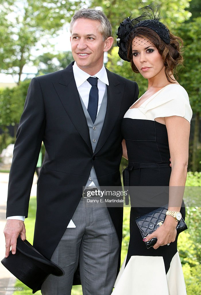 Gary Lineker and Danielle Lineker attend day one of Royal Ascot at Ascot Racecourse on June 19, 2012 in Ascot, England.