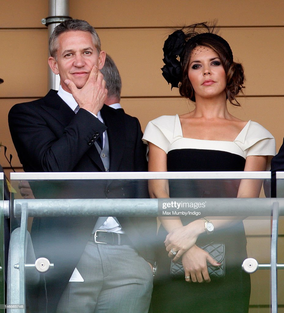 <a gi-track='captionPersonalityLinkClicked' href=/galleries/search?phrase=Gary+Lineker&family=editorial&specificpeople=67211 ng-click='$event.stopPropagation()'>Gary Lineker</a> and <a gi-track='captionPersonalityLinkClicked' href=/galleries/search?phrase=Danielle+Lineker&family=editorial&specificpeople=6541734 ng-click='$event.stopPropagation()'>Danielle Lineker</a> watch the racing as they attend day 1 of Royal Ascot at Ascot Racecourse on June 19, 2012 in Ascot, England.