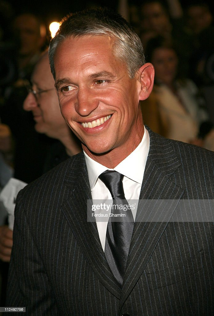 <a gi-track='captionPersonalityLinkClicked' href=/galleries/search?phrase=Gary+Lineker&family=editorial&specificpeople=67211 ng-click='$event.stopPropagation()'>Gary Lineker</a> during Spamalot - VIP West End Premiere - Outside Arrivals in London, United Kingdom.