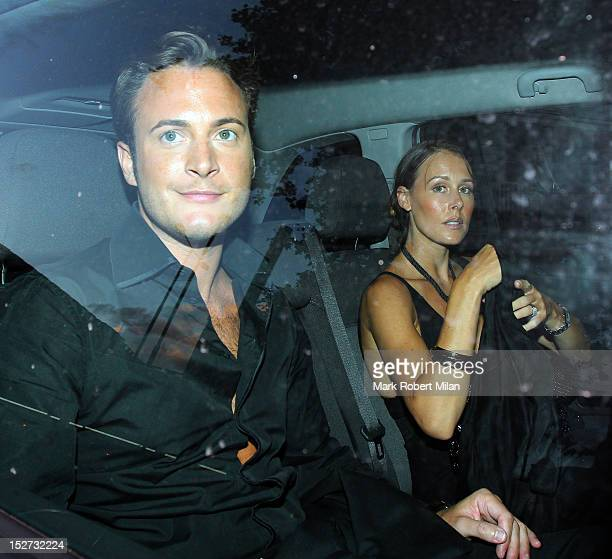 Gary Lucy at the Inside Soap awards on September 24 2012 in London England