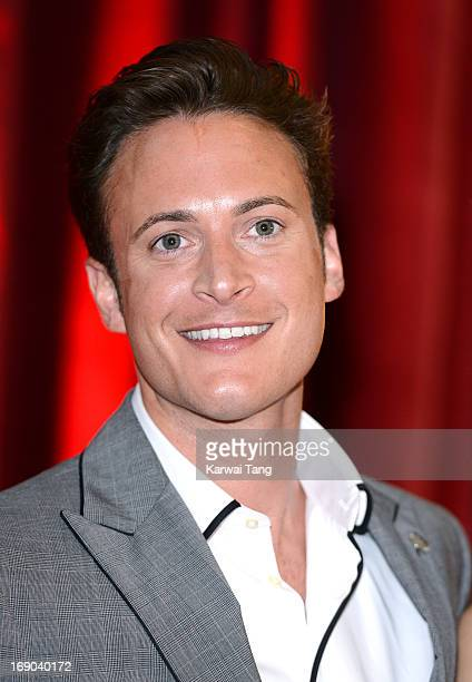 Gary Lucy attends the British Soap Awards at Media City on May 18 2013 in Manchester England