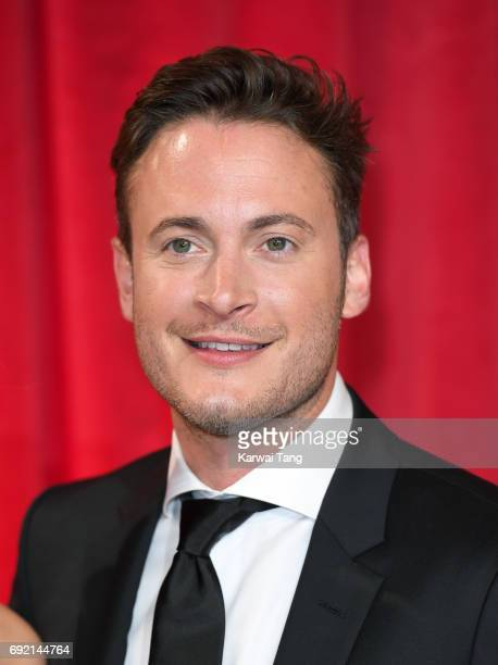 Gary Lucy attends the British Soap Awards at The Lowry Theatre on June 3 2017 in Manchester England