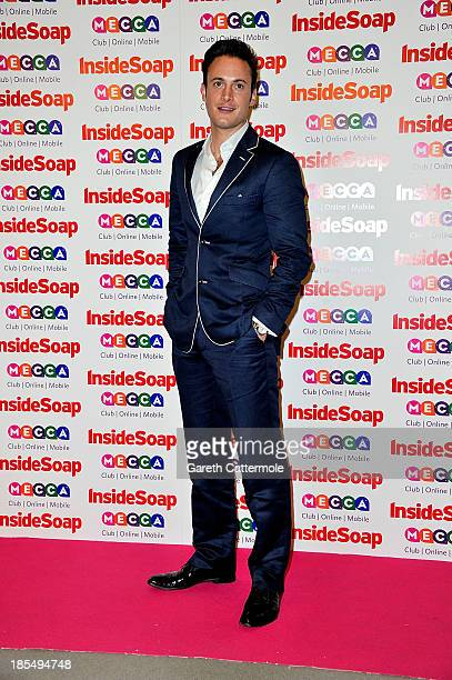 Gary Lucy attends the Inside Soap Awards at Ministry Of Sound on October 21 2013 in London England
