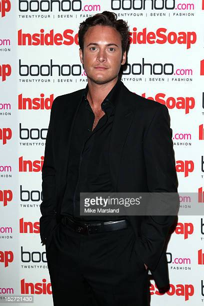 Gary Lucy attends the Inside Soap Awards at One Marylebone on September 24 2012 in London England