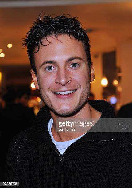 Gary Lucy attends the launch of SAW Alive the World's most extreme live horror maze at Thorpe Park on March 9 2010 in Chertsey England