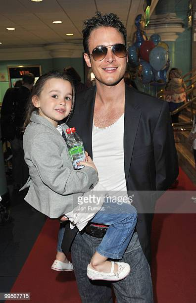 Gary Lucy attends the UK film premiere of 'Bob The Builder The Legend Of The Golden Hammer' at Vue Leicester Square on May 15 2010 in London England