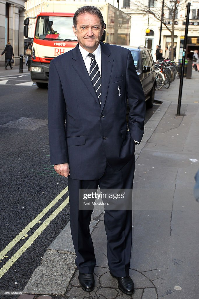 Gary Mabbutt attends the funeral of Roger Lloyd-Pack at St Paul's Church in Covent Garden on February 13, 2014 in London, England.