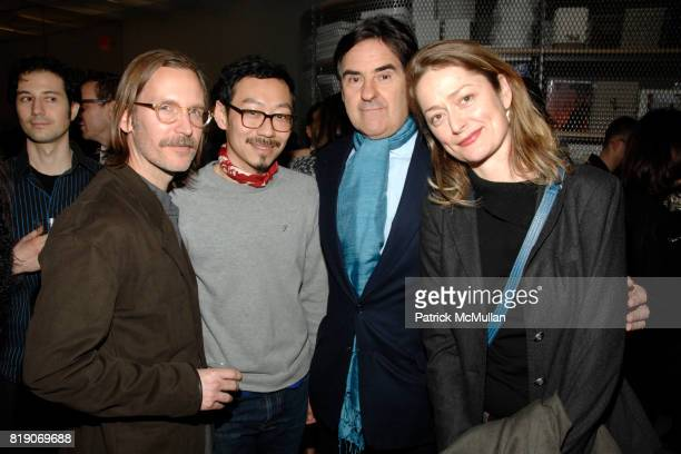 Gary McCraw Siri Peter Brant and Rainer Judd attend Opening for SKIN FRUIT Selections from the Dakis Joannou Collection at The New Museum on March 2...