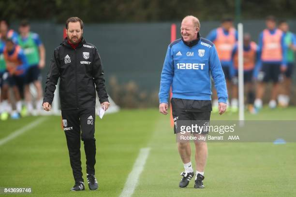 Gary Megson assistant head coach / manager of West Bromwich Albion on September 7 2017 in West Bromwich England