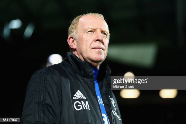 Gary Megson Caretakermanager of West Bromwich Albion looks on during the Premier League match between West Bromwich Albion and Newcastle United at...