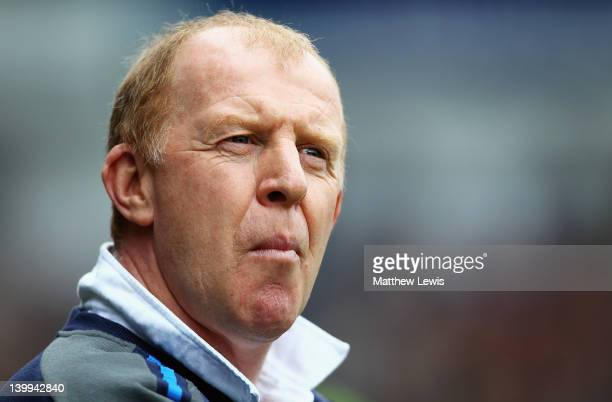 Gary Megson manager of Sheffield Wednesday looks on during the npower League One match between Sheffield Wednesday and Sheffield United at...
