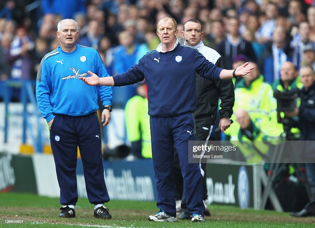 Gary Megson, manager of Sheffield Wednesday looks on during the npower League One match between Sheffield Wednesday and Sheffield United at Hillsborough Stadium on February 26, 2012 in Sheffield, England.