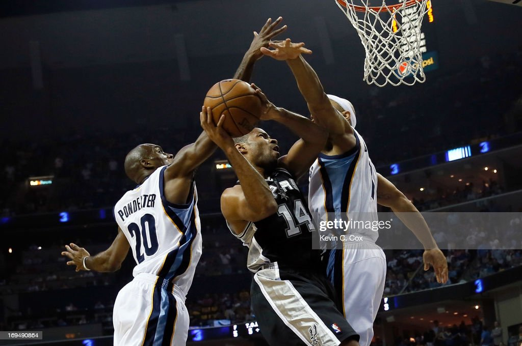 San Antonio Spurs v Memphis Grizzlies - Game Three